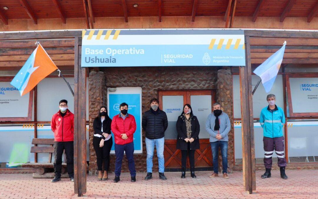 El Municipio de Tolhuin mantuvo un encuentro  con el director de la agencia de nacional de seguridad vial